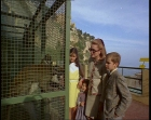 Grace Kelly with her children in 1969