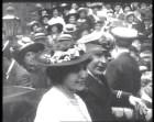 Marguerite Steinheil and Baron Abinger's wedding day, 1917
