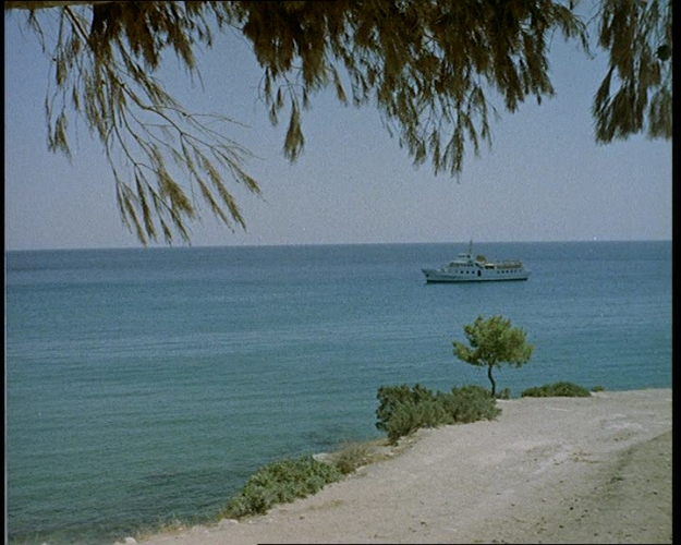 The video shows unspoilt Greek islands in the 1960s