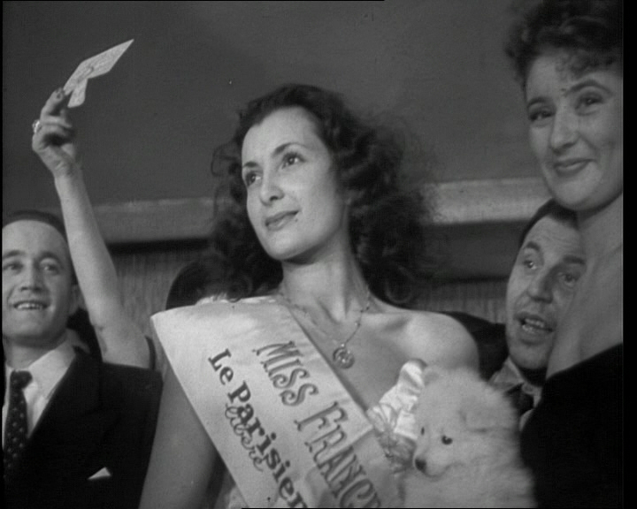 Juliette was crowned Miss France in 1949 -  (click on the image to watch the video)