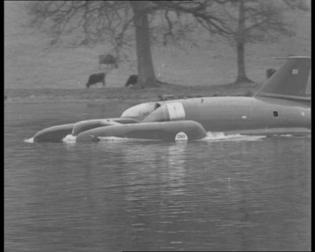 The first Pathe News Special announcing Donald Campbell's death. The reel has some great (if not eerie!) footage of Coniston Water.