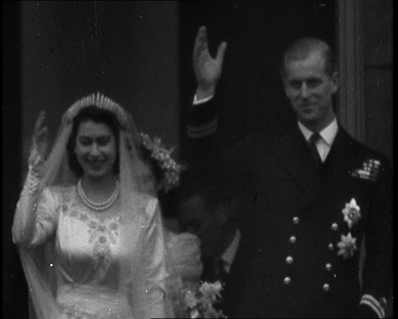 The Wedding Day in 1947. Click the still to view the film.