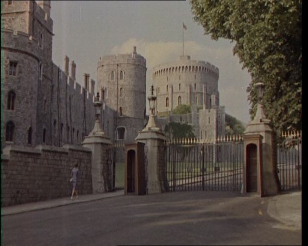 Windsor Castle before the fire