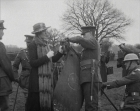 Princess Patricia of Connaught, seen here inspecting her Canadian regiment during WW1
