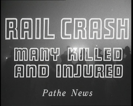 Rail crash in London (1957)