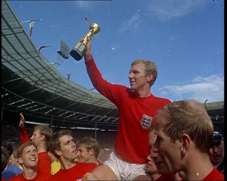 England's 1966 World Cup victory. Click the still to watch coverage of the match.