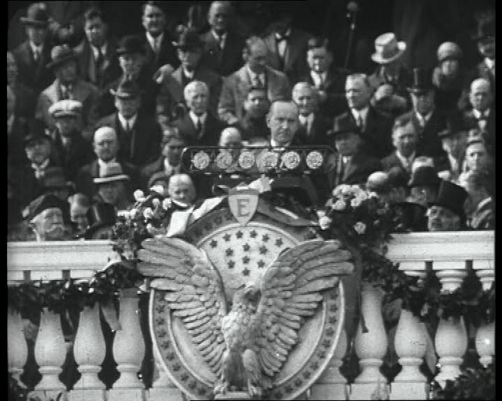 The inauguration of Calvin Coolidge, 30th President of the United States. Click the still to view the film.