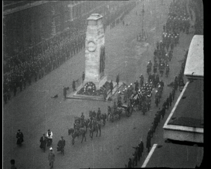 Funeral procession for Douglas Haig.