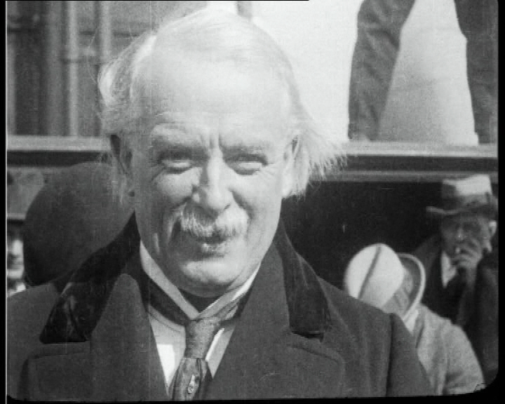 Lloyd George in 1922.