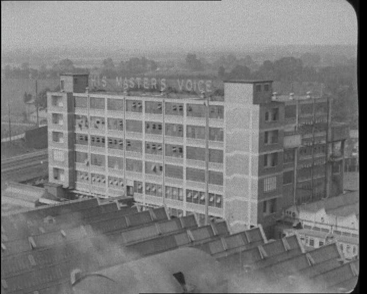 HMV Factory, circa 1930.