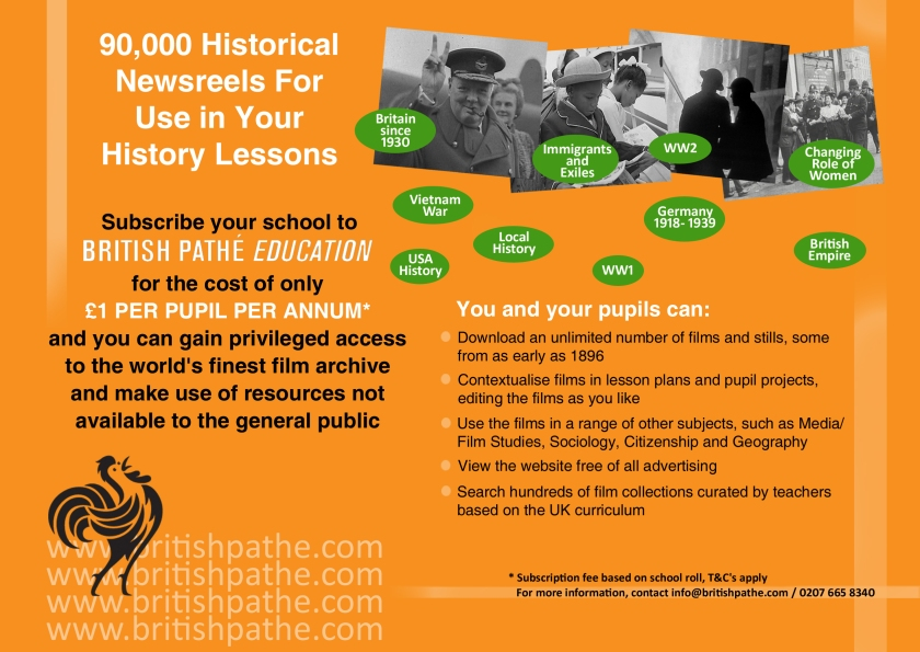 Teaching History Ad