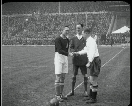 The 1928 FA Cup Final (Blackburn v Huddersfield).