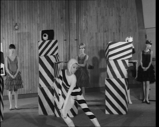 We love this outlandish Nina Ricci fashion show from 1966. Click the still to view the film.