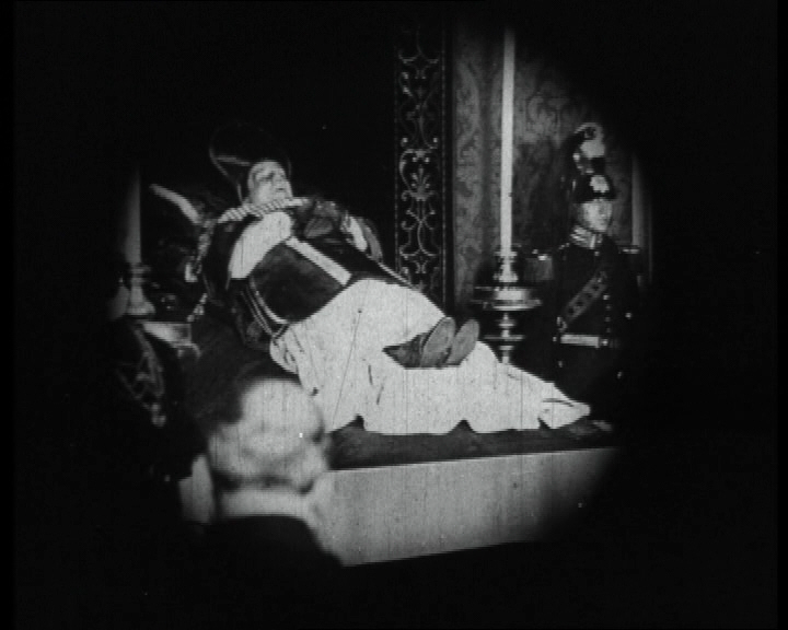 """Requiescat in Pace. Late Pope Benedict XV lying in State"", 1922 newsreel."
