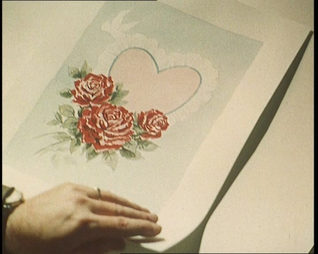 A look at the sentiments in Valentine's cards from 1861. Click the still to view the film.