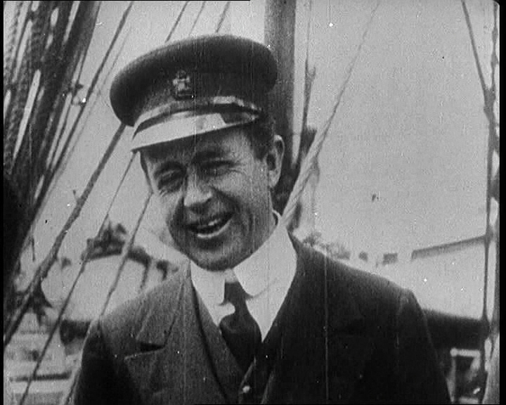 Robert Falcon Scott in footage contained within an episode of Time To Remember.